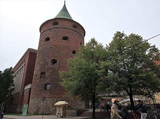 torre delle polveri a riga