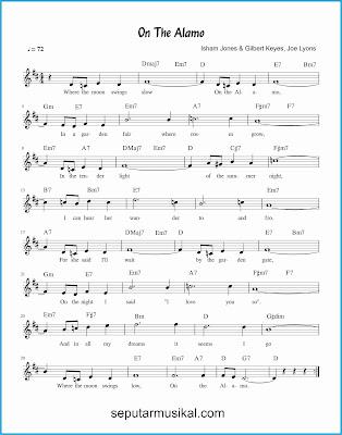 on the alamo lagu jazz standar