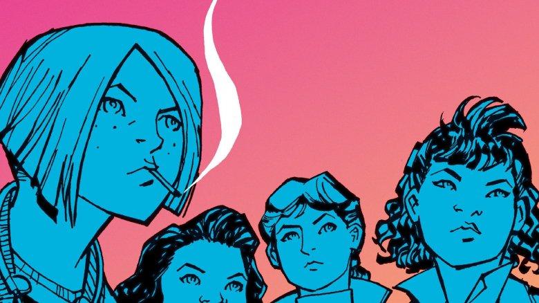 Retro komiks z potworami na ulicy, czyli o Paper Girls #1