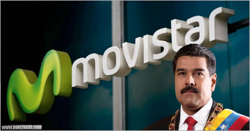 MOVISTAR podría ser sancionada por EEUU si no sale de Venezuela