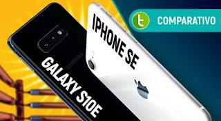 IPHONE SE VS GALAXY S10E:CAMERA