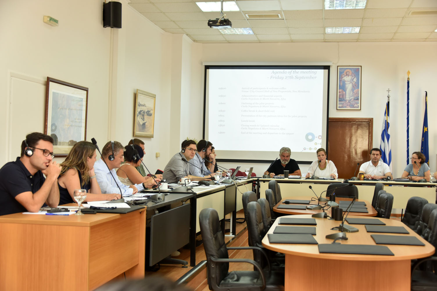 """Ξεκίνησε η 2η συνάντηση εργασίας του Ευρωπαϊκού Προγράμματος """"MATCH-SPORT- Make Amateur Sport Tolerant Eliminating Discrimination"""""""