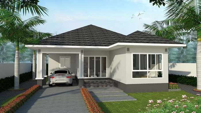 If you are in the process of planning your home, it is always a good idea to narrow down your choices to avoid confusions. If you prefer a Bungalow house design, focus on it and knows the pros and cons of this particular design. Nowadays, there are many bungalows that offer the perfect opportunity with open concept living. Although it is a one-story home, this design is ideal for both young and more mature couples as well as families.  Bungalow houses are easy to maintain because you have a single level home with everything you need to live comfortably. If you are looking for lovely Bungalow house design, you may check the following house photos to consider. You may design your own floor plan with this modern house styles.
