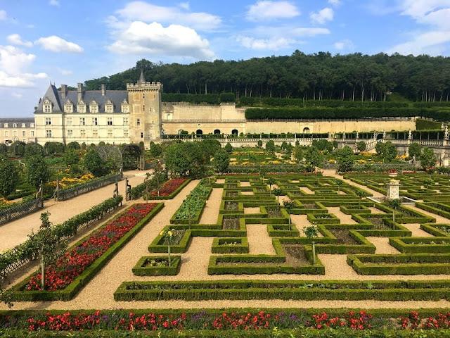castelo e jardins de villandry frança