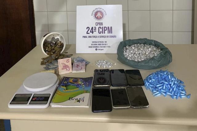 Polícia Militar estoura ponto de tráfico de drogas na Chapada Diamantina