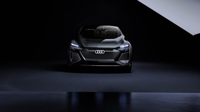 Audi Matt Black Sports Car 2020 Wallpaper