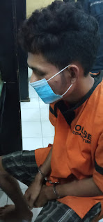 Penipuan Lewat Apliaksi Go Send Ojol Ditangkap Polsek Medan Timur