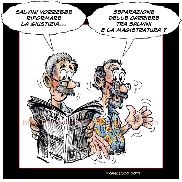 Salvini Magistratura