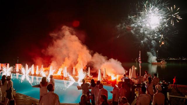"""Με White Party ξεκίνησε η σεζόν για το """"Nikki Beach"""" στο Πόρτο Χέλι"""