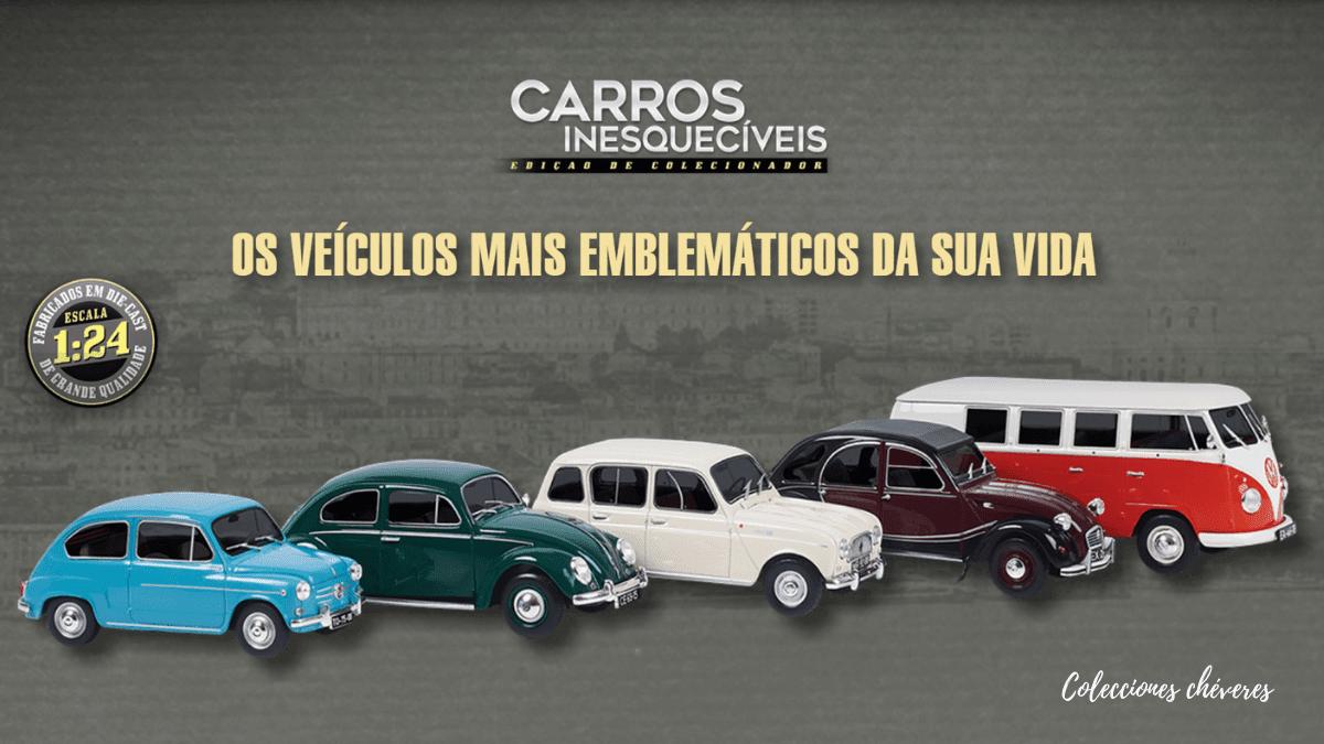 carros inesquecíveis 1:24 salvat portugal