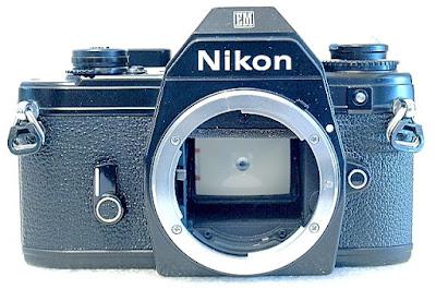 Nikon EM, front
