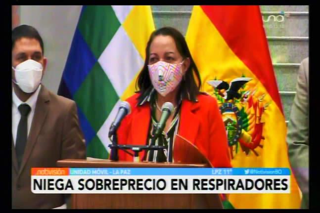 Gobierno demuestra que no hubo sobreprecio en respiradores; tampoco se ocultó documentación