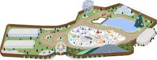 Mapa do Capital do Natal