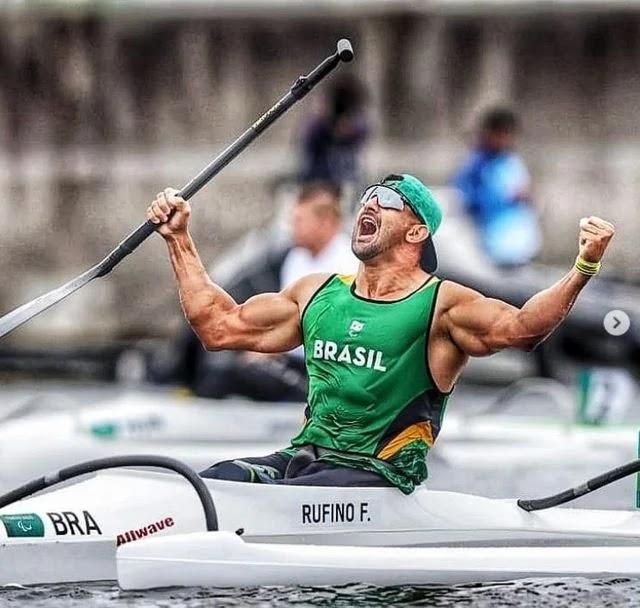 Fernando Rufino Cowboy da Ilha Comprida é ouro na Paralimpíadas de Tóquio