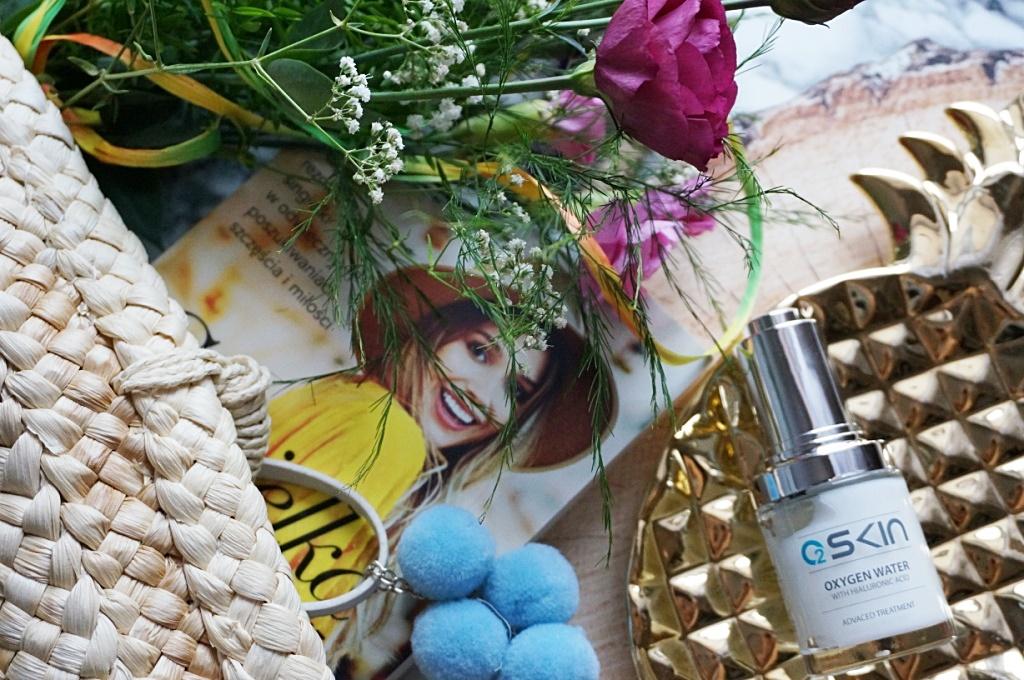 o2skin tlenowe serum nawilżające pielęgnacja twarzy