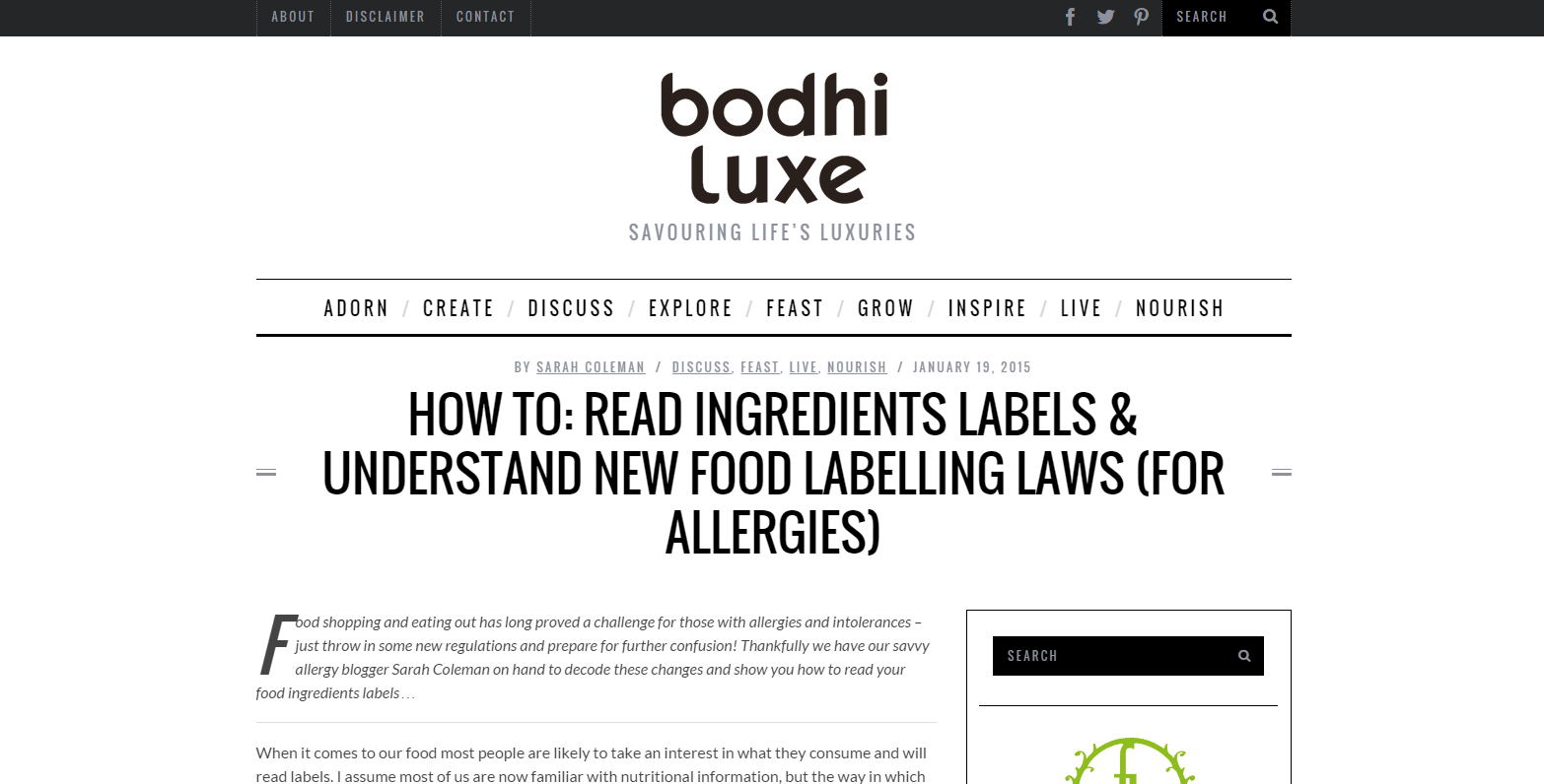 How To Read Ingredients Labels & Understand New Food Labelling Laws
