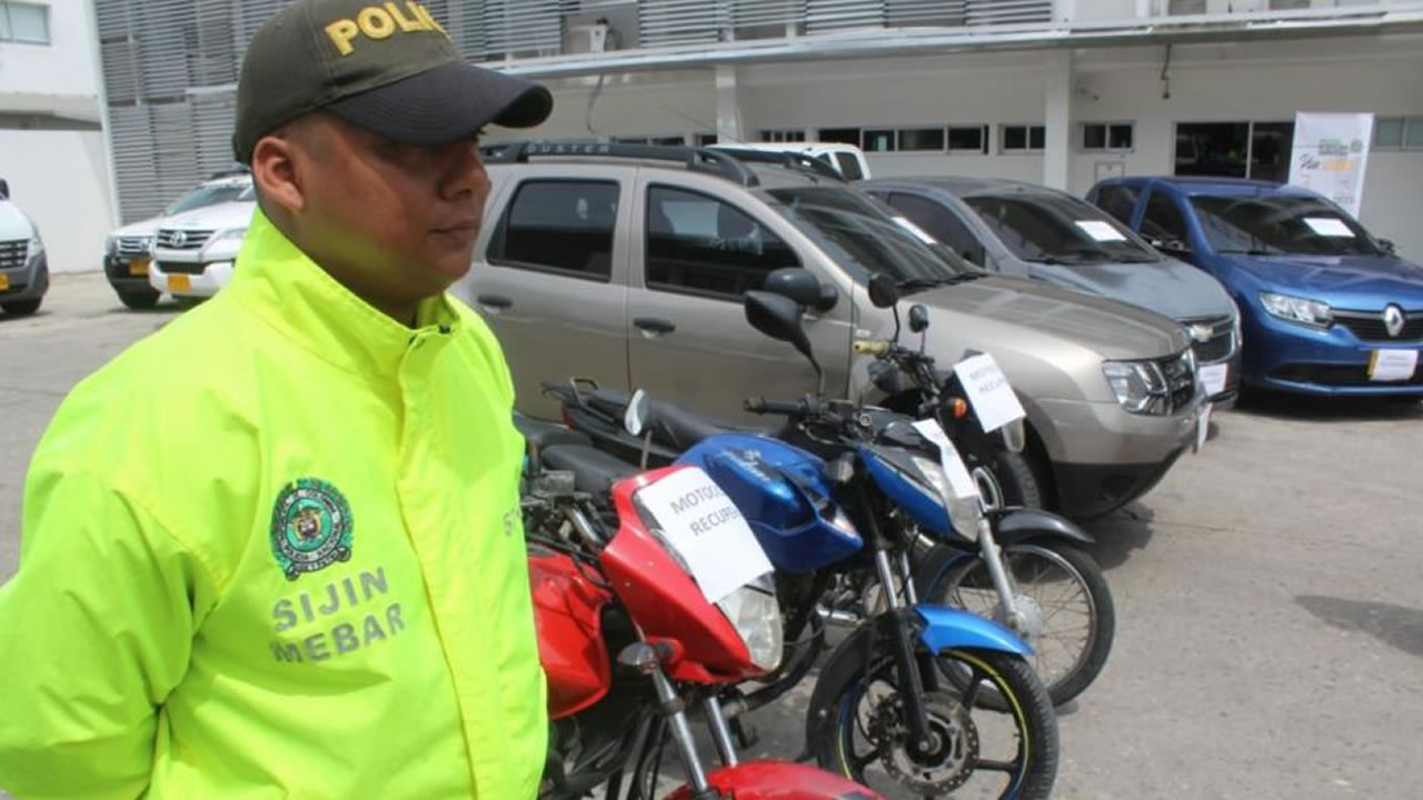 4 Capturas, 568 Autopartes Incautadas y 8 Vehículos Recuperados en Barranquilla - Judicial