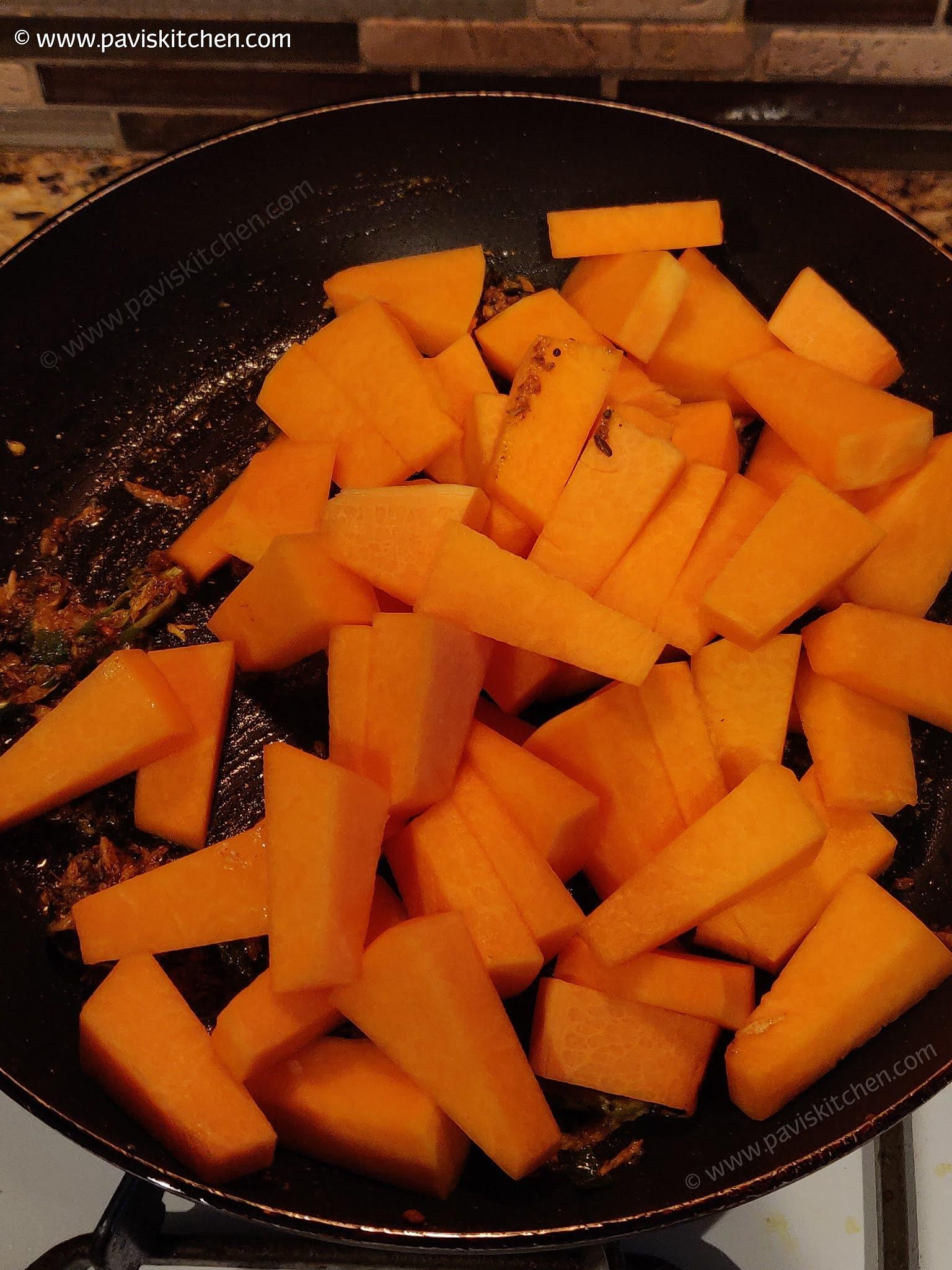 Kaddu Ki Sabji | Sweet Sour Pumpkin Curry | Khatta Meetha Kaddu