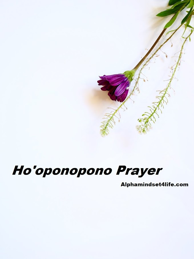 What is Ho'oponopono prayer - The secret of all Healings