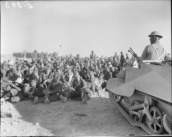 16 December 1940 worldwartwo.filminspector.com Italian prisoners North Africa
