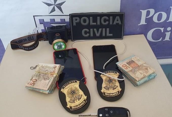 Dupla é presa após aplicar golpe no comércio de Muritiba