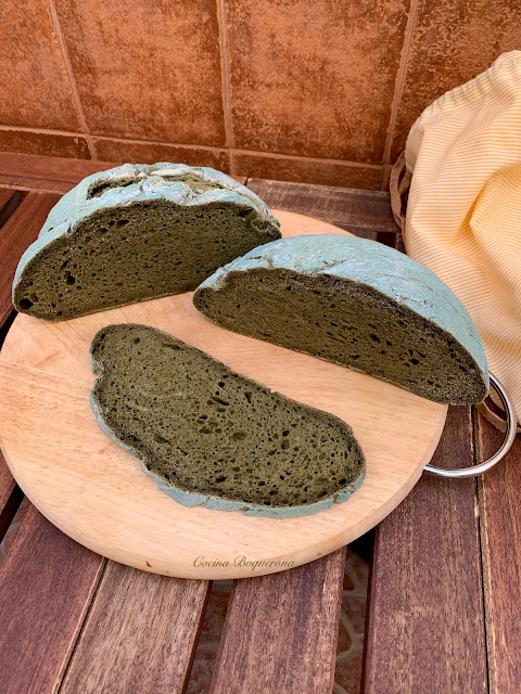 Espirulina bread gluten free