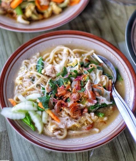10 Kuliner Makanan Khas Bantul, Yogyakarta - Bakmi Godog Bantul