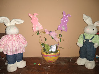 Various easter decorations