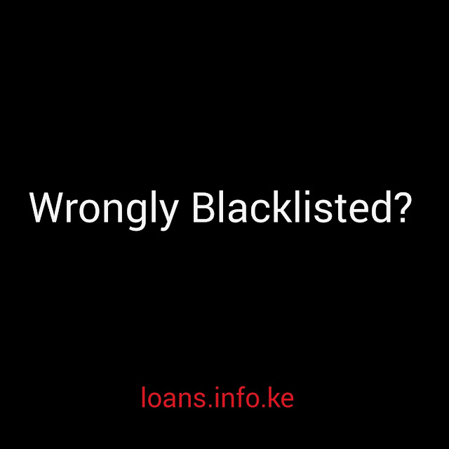 Wrongly blacklisted in Kenya by CRB