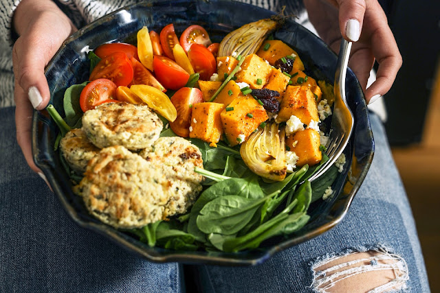 Nutritious low carb vegetables in a dish