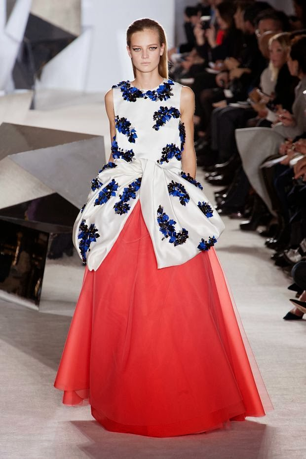Fashion Runway Giambattista Valli Haute Couture Spring/Summer 2014