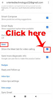 how to get rid of google meet in gmail