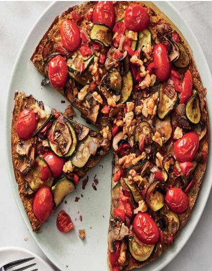 HEALTHY DINNER  RECIPE VEGETABLE TART