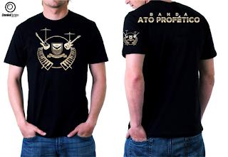 Logo e Camisa Banda Ato Profético do Ministério Ato Profético