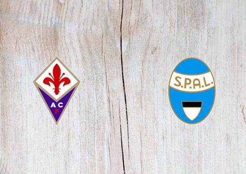 Fiorentina vs SPAL -Highlights 12 January 2020