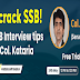 Register here for SSB Free Webinar by Col Kataria, SM  (SSB Psychologist)