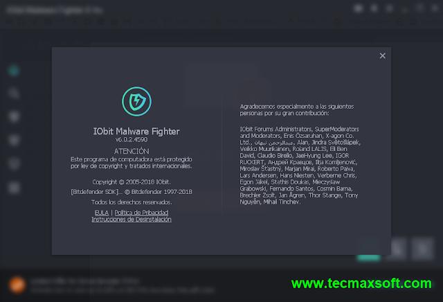 IObit Malware Fighter PRO Serial Full captura 6