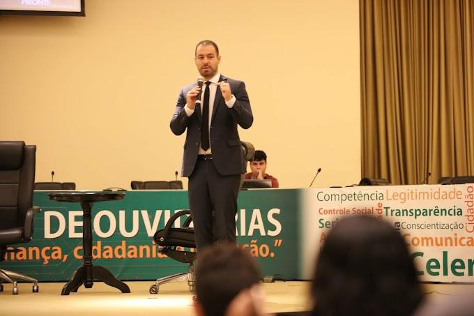 Simpósio de Ouvidorias encerra com palestra sobre combate à corrupção
