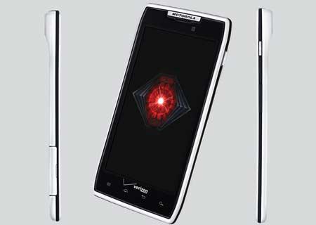 Motorola White Droid Razr released on Verizon-Network ...