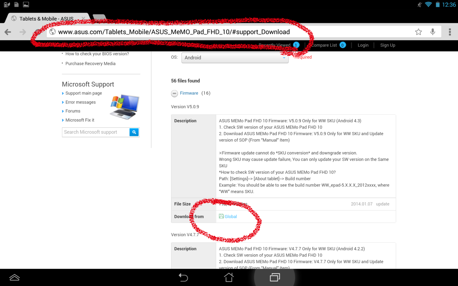 Hot Coding!: How to update Asus Memo FHD 10 to Android 4 3