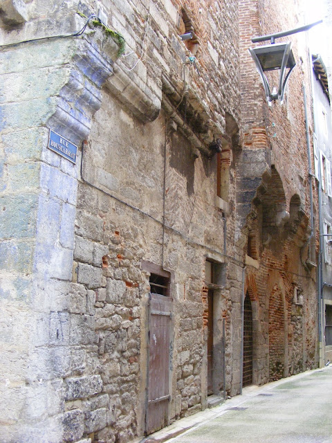 Medieval building, Cahors, Lot, France. Photo by Loire Valley Time Travel.