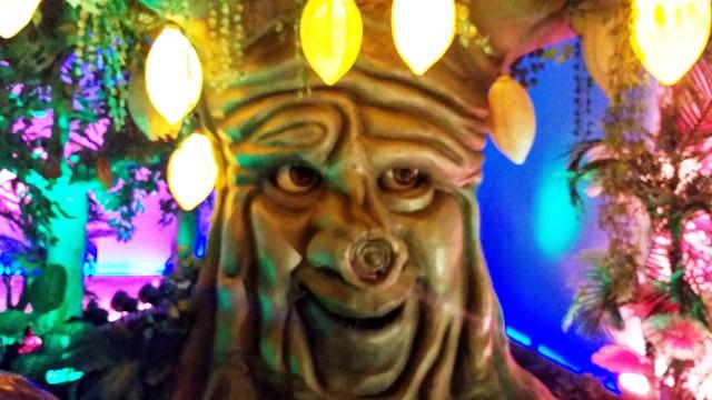 O Cacaueiro falante no Reino do Chocolate Caracol, em Gramado, na Serra Gaúcha