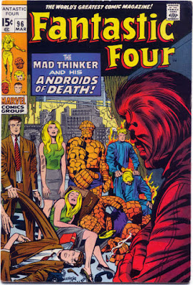 Fantastic Four #96, the Mad Thinker