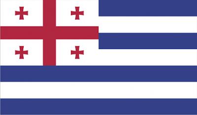 Gambar bendera Negara Ajaria