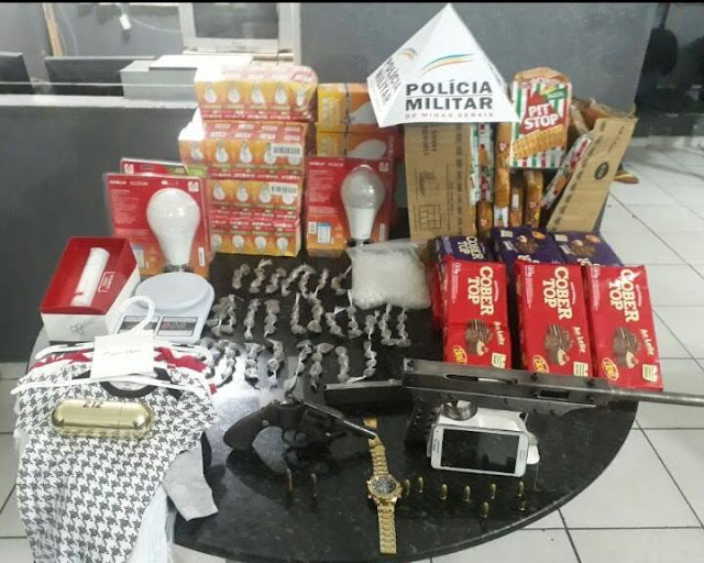 Tráfico de Drogas no Bairro Baronesa em Santa Luzia