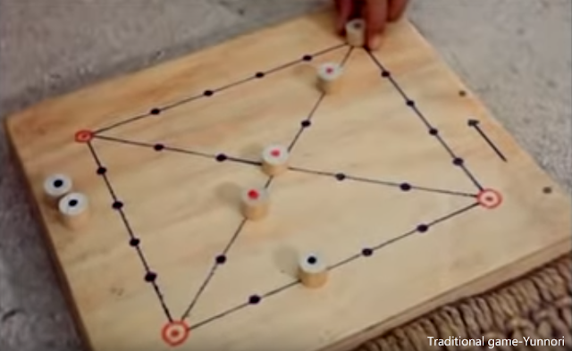 Yunnori traditional game