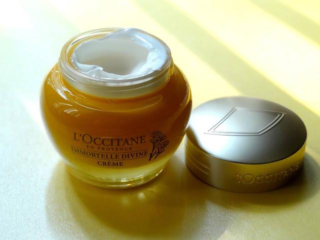 L'Occitane Immortelle Divine Anti Aging Cream And Serum