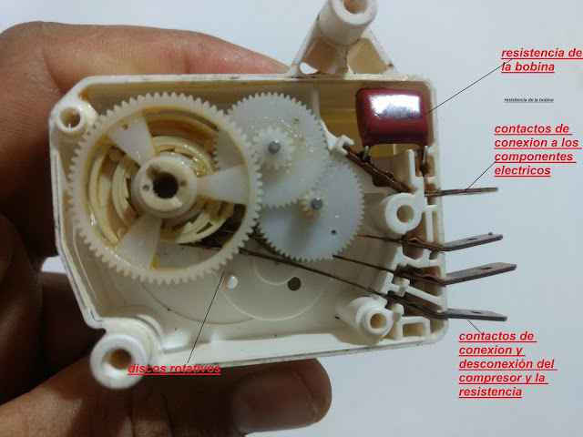que es un timer,partes de un timer,imagen de un timer,como funciona un timer,que es un temporizador,que es un timer de descongelacion,electronica'electricidad