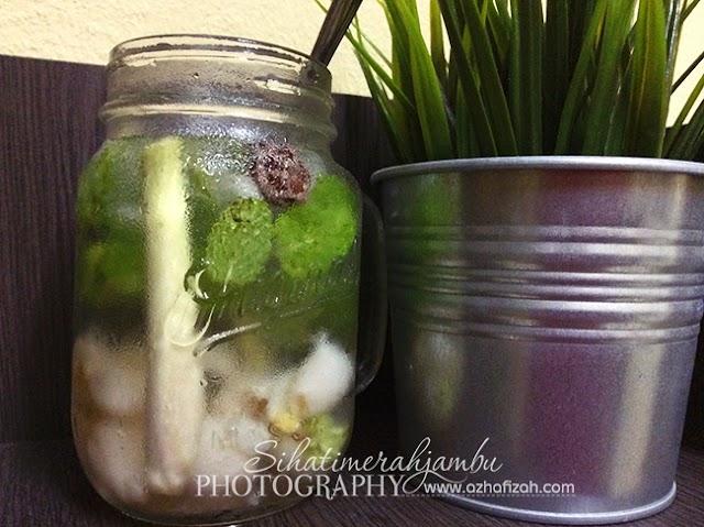 Resepi Air Soda Herbs Sedap