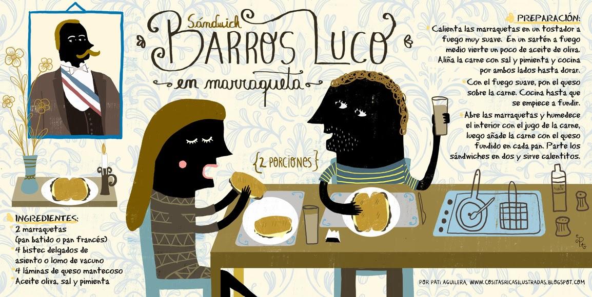 Barros Luco Ingredientes Anti Feixista